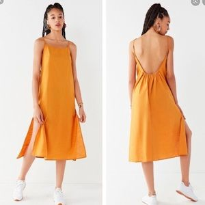 Urban outfitters - backless linen dress